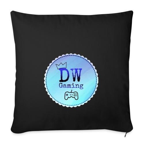 dw logo - Sofa pillowcase 17,3'' x 17,3'' (45 x 45 cm)