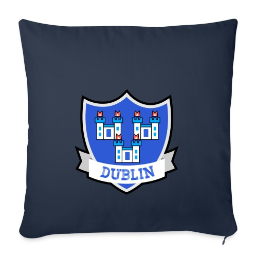 Dublin - Eire Apparel - Sofa pillowcase 17,3'' x 17,3'' (45 x 45 cm)