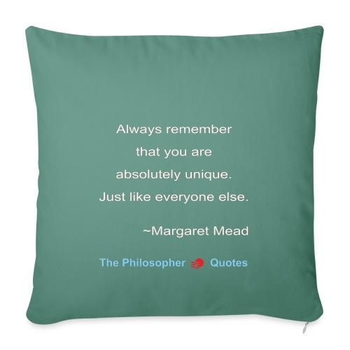 Margaret Mead Unique-w - Sierkussenhoes, 45 x 45 cm
