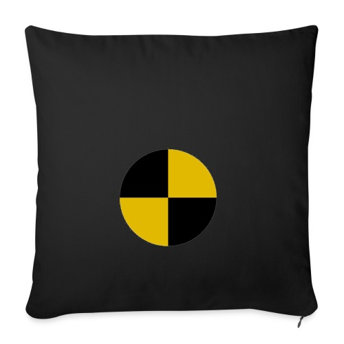 crash test - Sofa pillowcase 17,3'' x 17,3'' (45 x 45 cm)