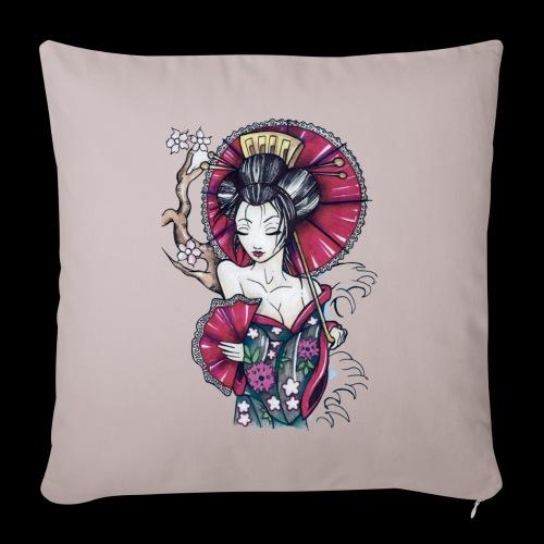 Geisha2 - Copricuscino per divano, 45 x 45 cm