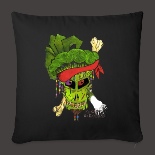 PIRATE BROCCOLI - Housse de coussin décorative 45 x 45 cm