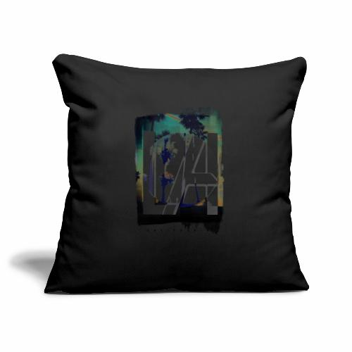 LA California - Sofa pillowcase 17,3'' x 17,3'' (45 x 45 cm)
