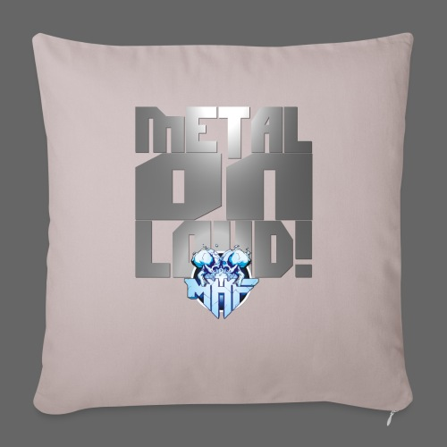 metalonloud large 4k png - Sofa pillowcase 17,3'' x 17,3'' (45 x 45 cm)