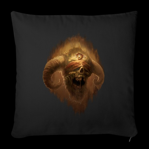 Horned Scream - Sofa pillowcase 17,3'' x 17,3'' (45 x 45 cm)