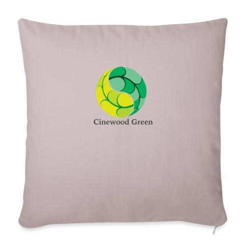 Cinewood Green - Sofa pillowcase 17,3'' x 17,3'' (45 x 45 cm)