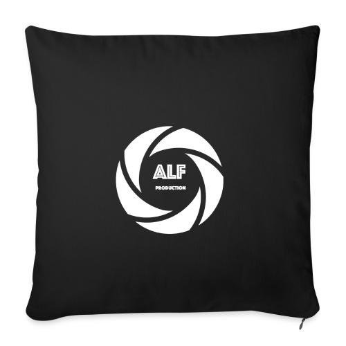 Logo Bianco - Copricuscino per divano, 45 x 45 cm