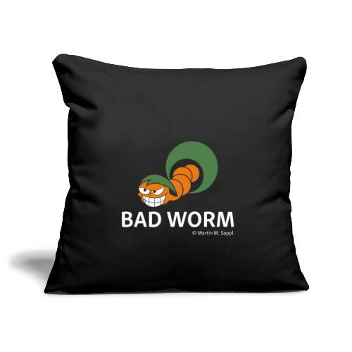 Bad worm - Sofakissenbezug 44 x 44 cm