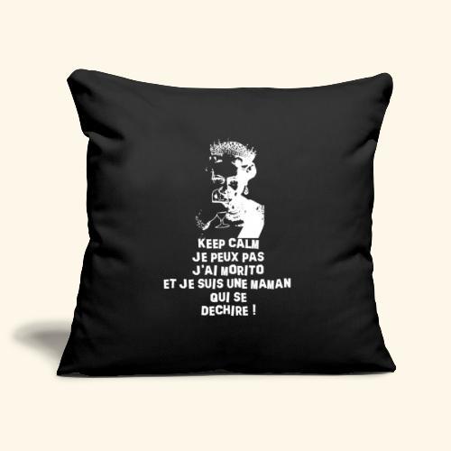t shirt keep morito - Housse de coussin décorative 45x 45cm