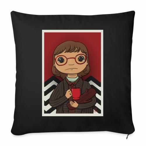 La signora Ceppo (Margaret Lanterman) - Copricuscino per divano, 45 x 45 cm