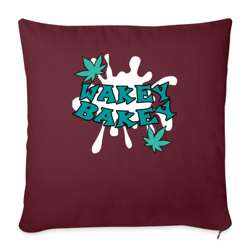 Wakey Bakey - Sofa pillowcase 17,3'' x 17,3'' (45 x 45 cm)