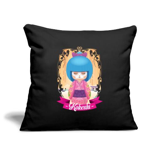 Kokeshi mod.1 - Copricuscino per divano, 45 x 45 cm