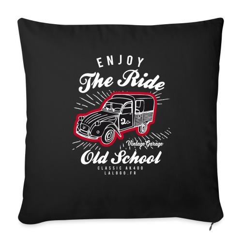 T-shirt Enjoy The Ride 2cv AK400 - Housse de coussin décorative 45x 45cm
