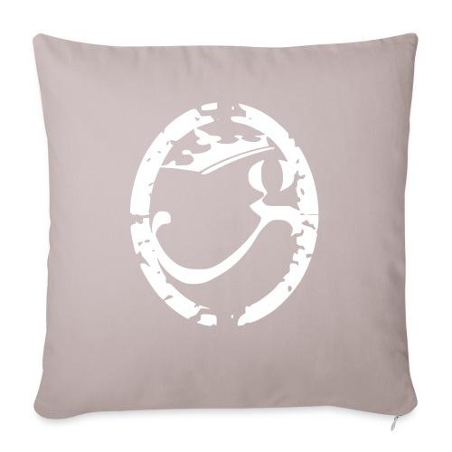Logo G-Godsèd Blanc - Housse de coussin décorative 45x 45cm