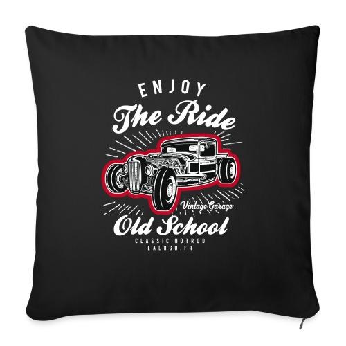 T-shirt Enjoy The Ride Hot Rod - Housse de coussin décorative 45x 45cm