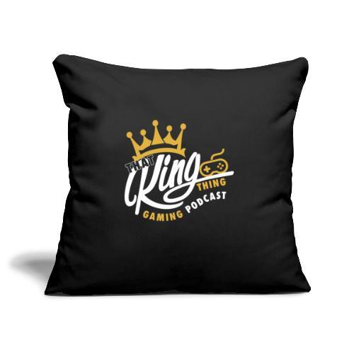 That King Thing Logo - Sofa pillowcase 17,3'' x 17,3'' (45 x 45 cm)