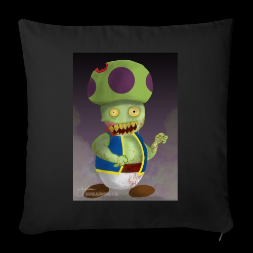 SuperMario: Zombie Toad - Sierkussenhoes, 45 x 45 cm