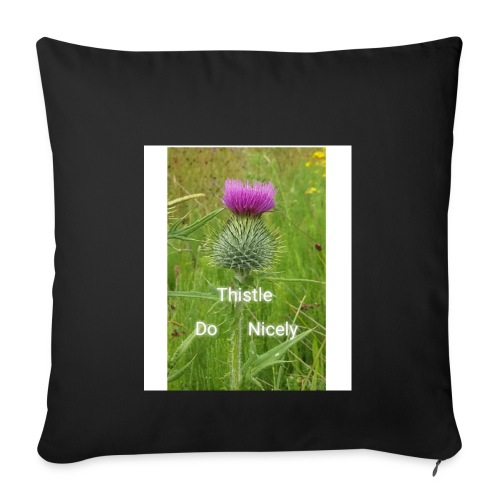 IMG 20180301 221949 Thistle Do Nicely - Sofa pillowcase 17,3'' x 17,3'' (45 x 45 cm)