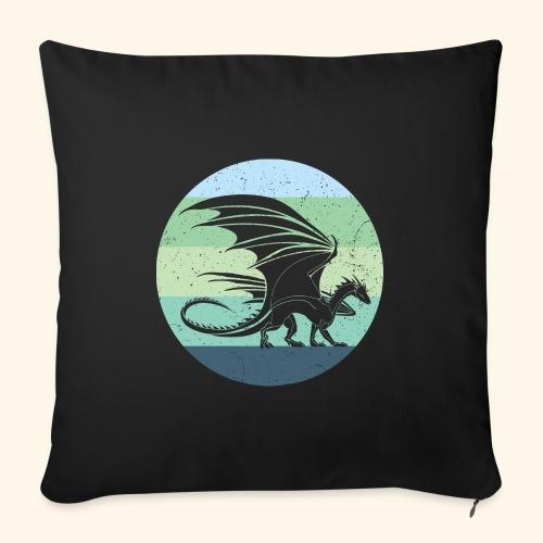 Welsh Dragon Retro - Sofa pillowcase 17,3'' x 17,3'' (45 x 45 cm)