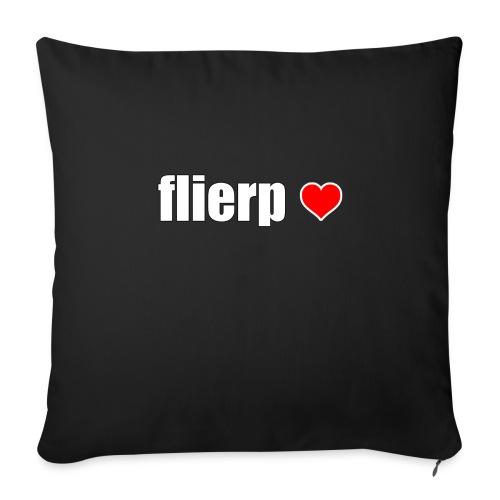 I love Flierp - Sierkussenhoes, 45 x 45 cm