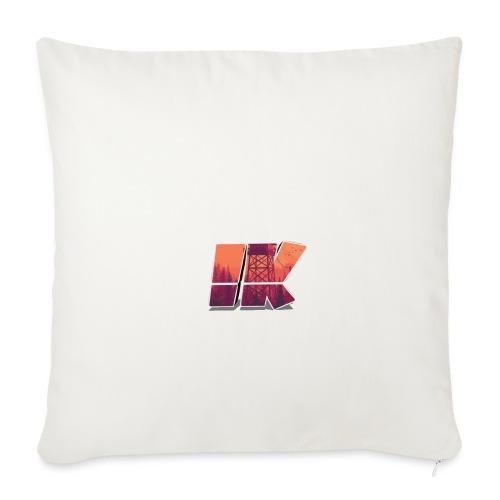 Ishaan Kulkarni Logo (1) - Sofa pillowcase 17,3'' x 17,3'' (45 x 45 cm)