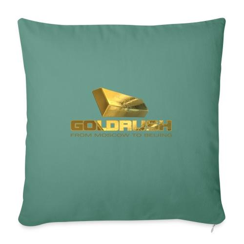GOLDBARREN - GOLDRUSH - From moscow to beijing - Sofakissenbezug 44 x 44 cm