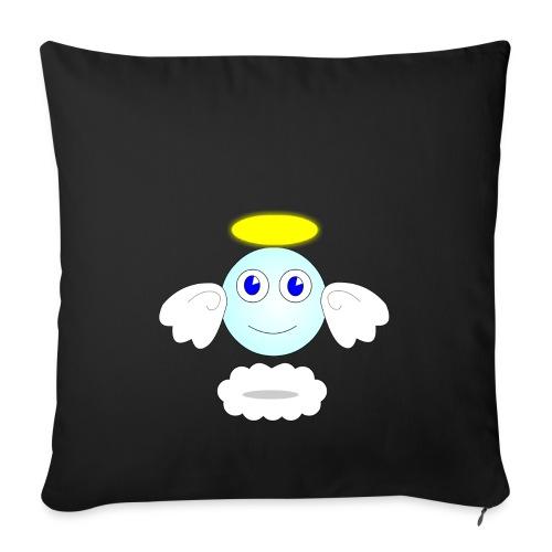 puff logo - Copricuscino per divano, 45 x 45 cm