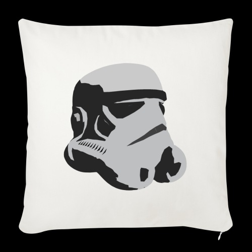 Stormtrooper Helmet - Sofa pillowcase 17,3'' x 17,3'' (45 x 45 cm)