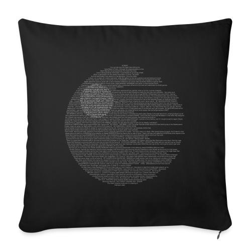 death star - Copricuscino per divano, 45 x 45 cm