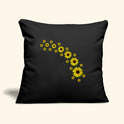 Sonnenblumen, Sonnenblume, Blumen - Sofakissenbezug 44 x 44 cm