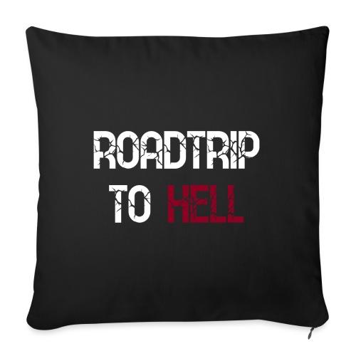 Roadtrip To Hell - Sofakissenbezug 44 x 44 cm