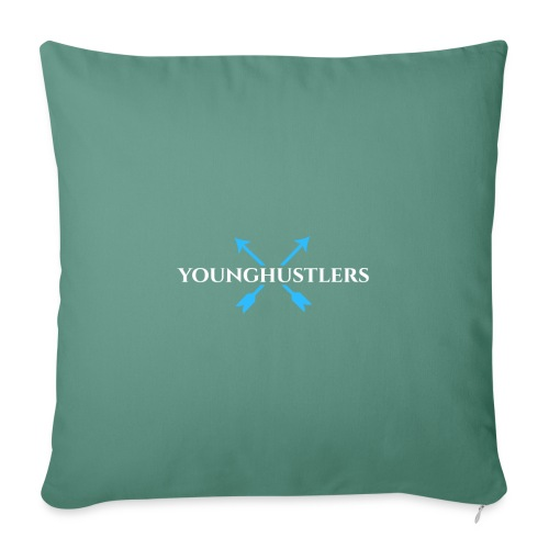 Younghustlers - Sofa pillowcase 17,3'' x 17,3'' (45 x 45 cm)