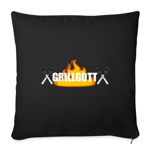 Grillgott Barbecue Experte - Sofakissenbezug 44 x 44 cm
