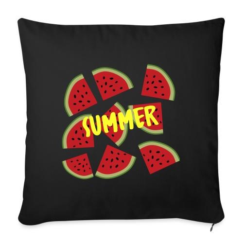 Sommer Sonne Wassermelone - Sofakissenbezug 44 x 44 cm