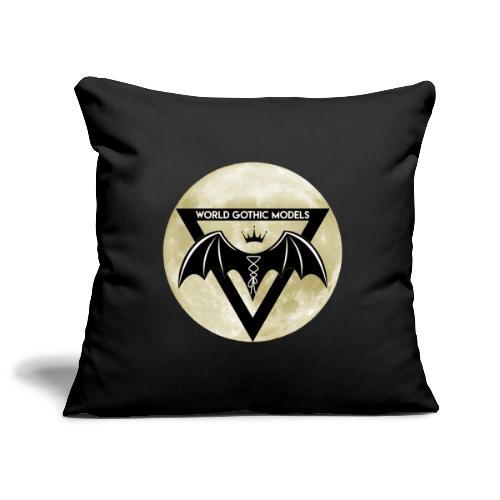 Single WGM Logo Moon Design - Sofa pillowcase 17,3'' x 17,3'' (45 x 45 cm)