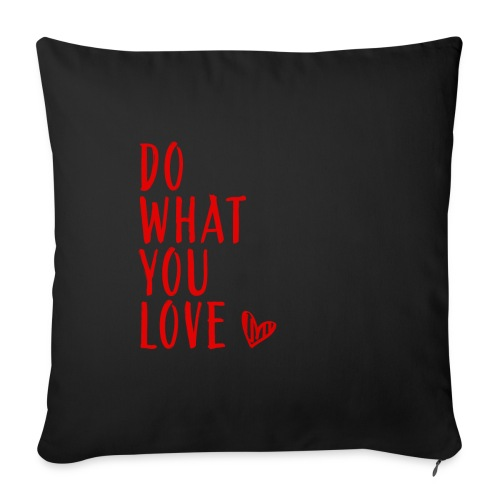 Love - Copricuscino per divano, 45 x 45 cm