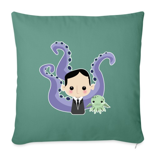 Lovecraft and Cthulhu - Copricuscino per divano, 45 x 45 cm