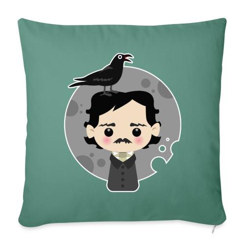 Edgar Allan Poe - Copricuscino per divano, 45 x 45 cm