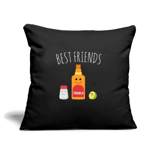 Best Friends - Tequila - Sofa pillowcase 17,3'' x 17,3'' (45 x 45 cm)
