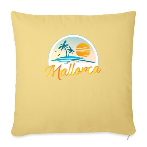 Mallorca - die goldene Insel der Lebensqualität - Sofakissenbezug 44 x 44 cm
