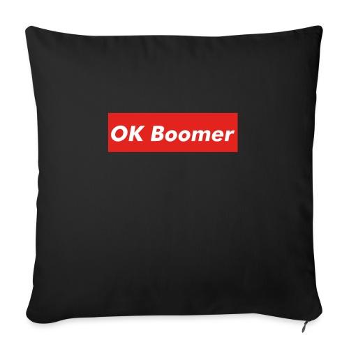 OK Boomer Meme - Sofa pillowcase 17,3'' x 17,3'' (45 x 45 cm)