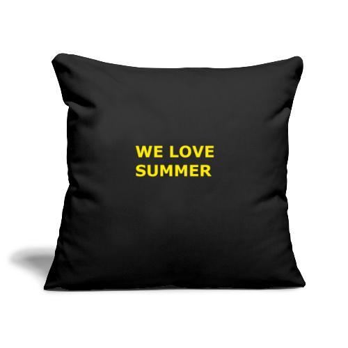 we love summer - Sofakissenbezug 44 x 44 cm