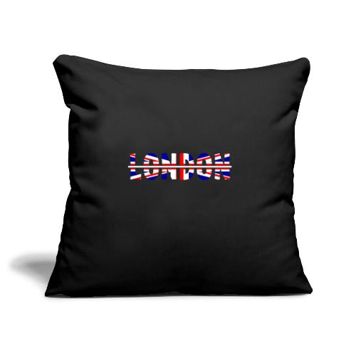 Cooles London Souvenir - Britische Flagge London - Sofakissenbezug 44 x 44 cm