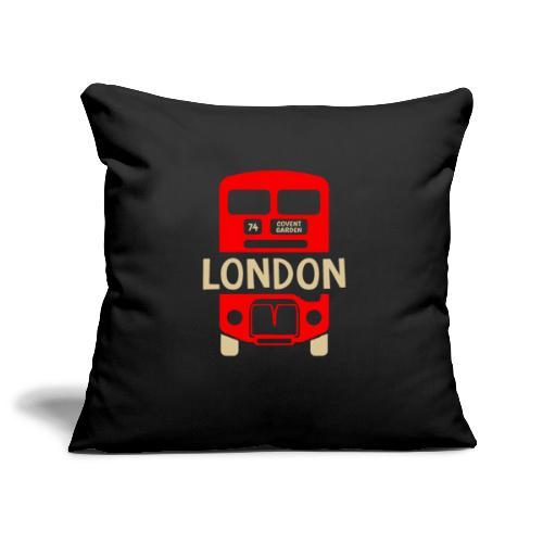 London Bus Roter Doppeldecker London Fan Souvenir - Sofakissenbezug 44 x 44 cm