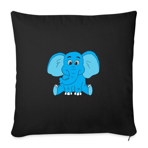Baby Elefant - Sofakissenbezug 44 x 44 cm