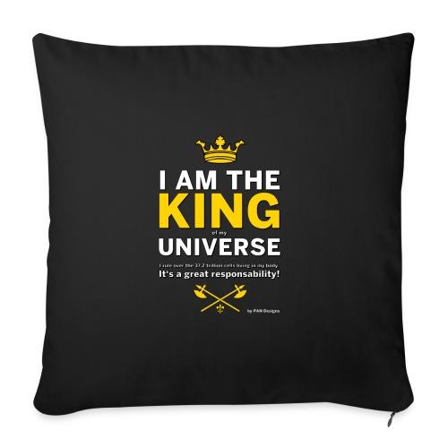 Royal King T-shirt - PAN designs - Tees & Gifts - Soffkuddsöverdrag, 45 x 45 cm