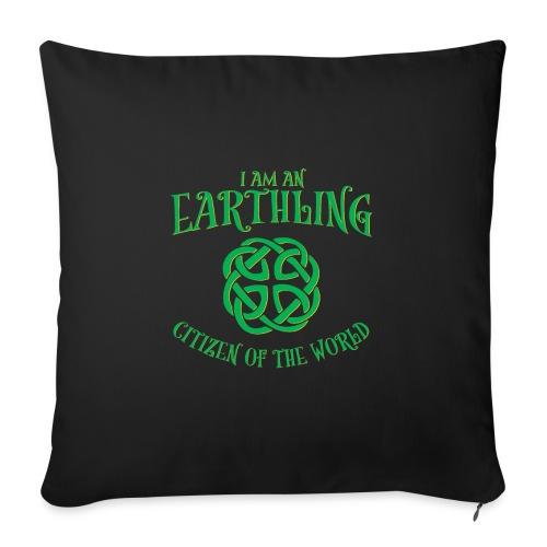 EARTHLING Green the earth - Soffkuddsöverdrag, 45 x 45 cm