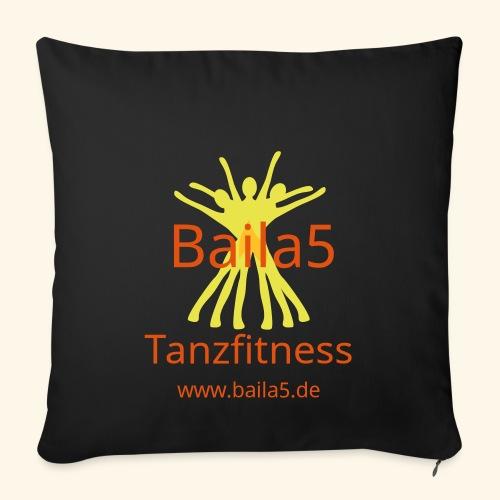 Baila5 Tanzfitness gelb - Sofakissenbezug 44 x 44 cm