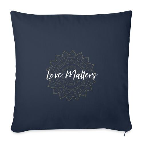 Love Matters - Sofakissenbezug 44 x 44 cm