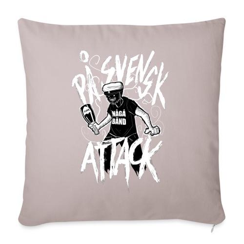 På Svenska Tack - Sofa pillowcase 17,3'' x 17,3'' (45 x 45 cm)